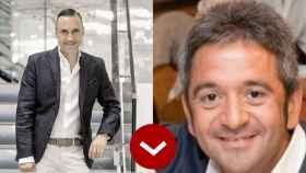 A LOS LEONES: Ralf Weinn (H&M) y Ricardo Currás (DIA)