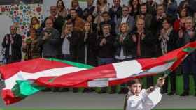 Celebración del Aberri Eguna en el País Vasco.