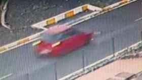 Imagen del coche que ha atropellado a un niño en Adeje y se ha dado a la fuga.