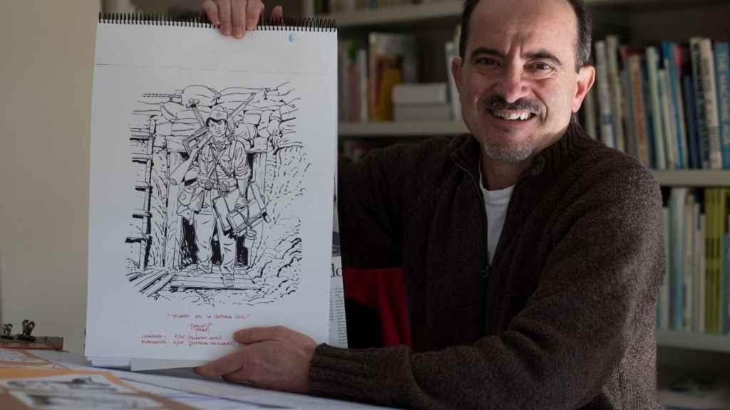 El historietista Daniel Torres se adentra ahora en la vida de Picasso. EFE.