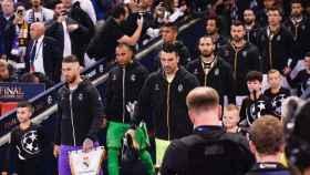 El Real Madrid y la Juventus saltan al campo en Cardiff
