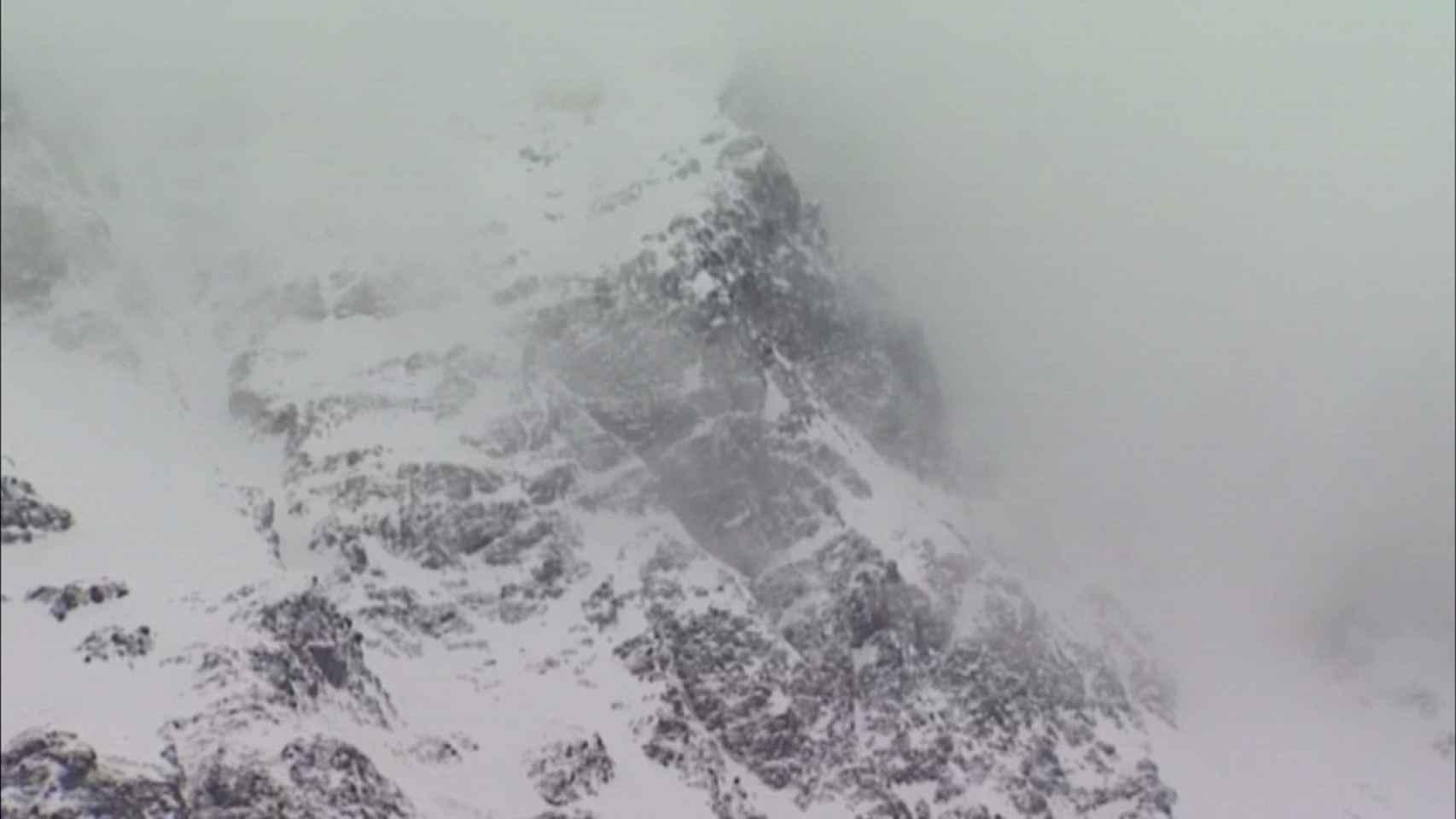 Identificación de alpinistas españoles muertos en la avalancha