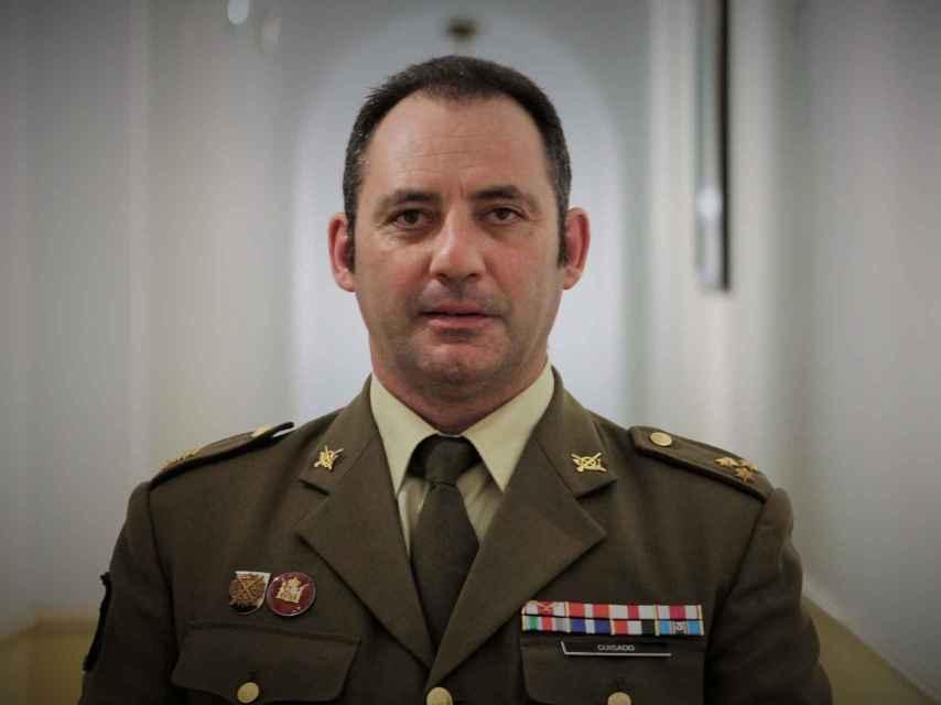 Capitán Jacinto Guisado.