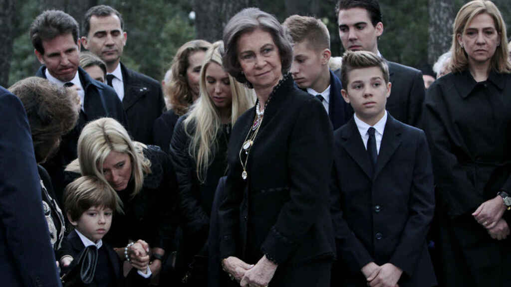 Marie-Chantal de Grecia estalla contra Letizia tras el forcejeo con doña Sofía