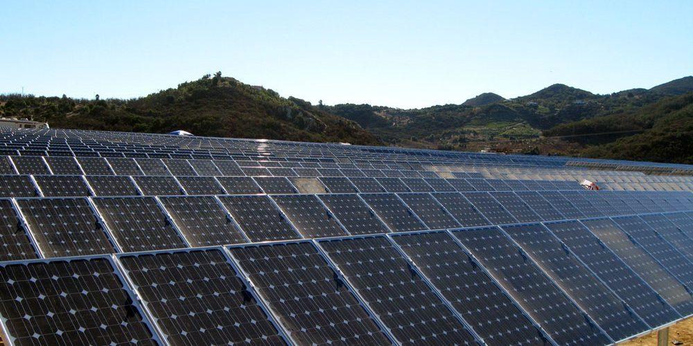 energia solar planta solar