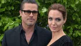 Brad Pitt y Angelina Jolie en 2014.