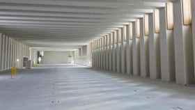 Interior vacío del Museo de las Colecciones Reales a la espera de la museografía.
