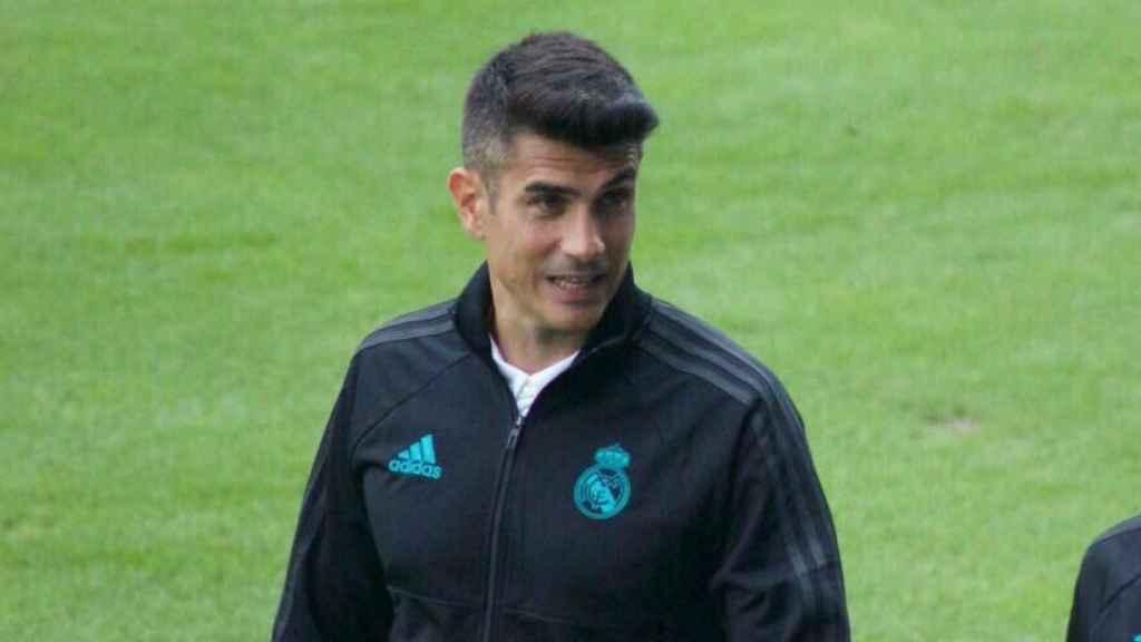 Álvaro Benito, entrenador del Juvenil B.