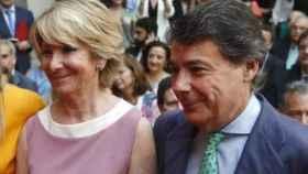 Los expresidentes madrileños Esperanza Aguirre e Ignacio González
