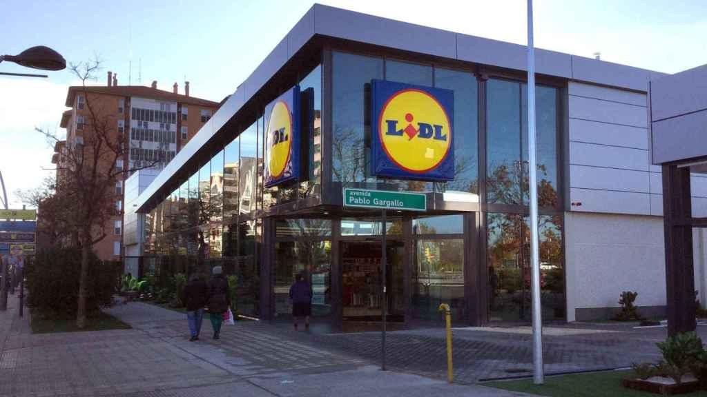 Supermercado de la cadena Lidl.