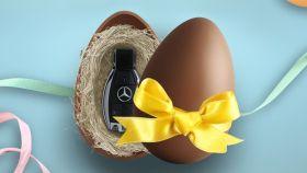 El lazo amarillo de Mercedes-Benz que ha puesto Twitter patas arriba