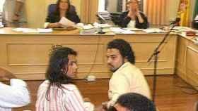 Farruquito y Jorge el día del juicio.