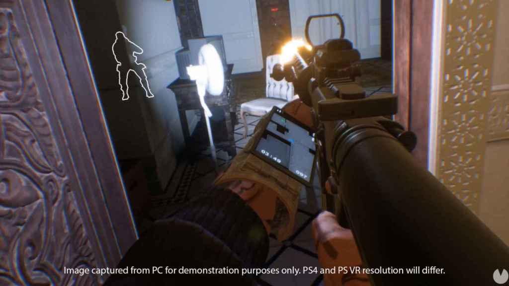 La acción estratégica y por equipos de 'Firewall Zero Hour' es una de las propuestas más atractivas de PS VR.