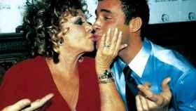 El cubano Dinio y Marujita Díaz mantuvieron una relación durante el año 2000.