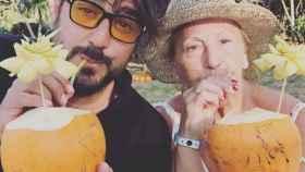Antonio Orozco junto a su madre Carmen en Instagram.