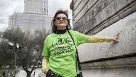 Ángela Muñoz es una de las cuatro kellys que visitan la Moncloa este jueves.