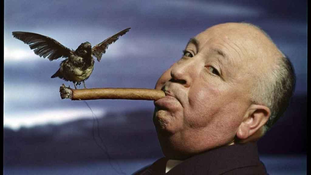 Alfred Hitchcock dirigió la mítica película 'Los pájaros'