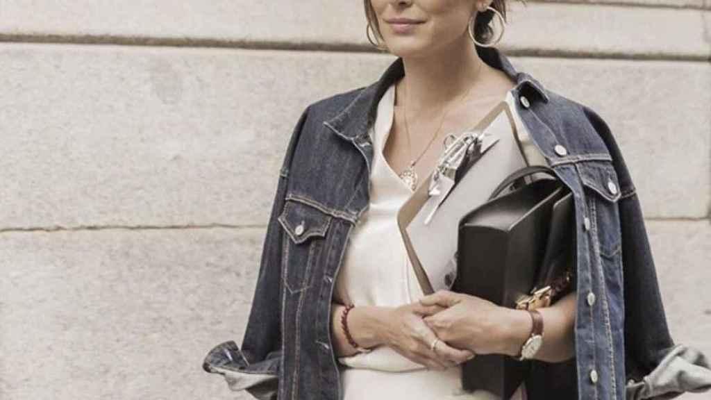 Tamara Falcó ya ejerce de diseñadora de moda.