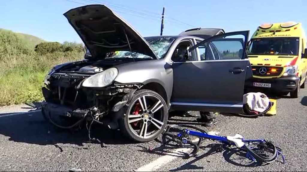 El accidente ha dejado nueve heridos, dos de ellos graves.