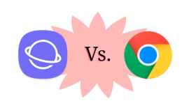Google Chrome contra el navegador de Samsung. ¿Cuál es mejor?