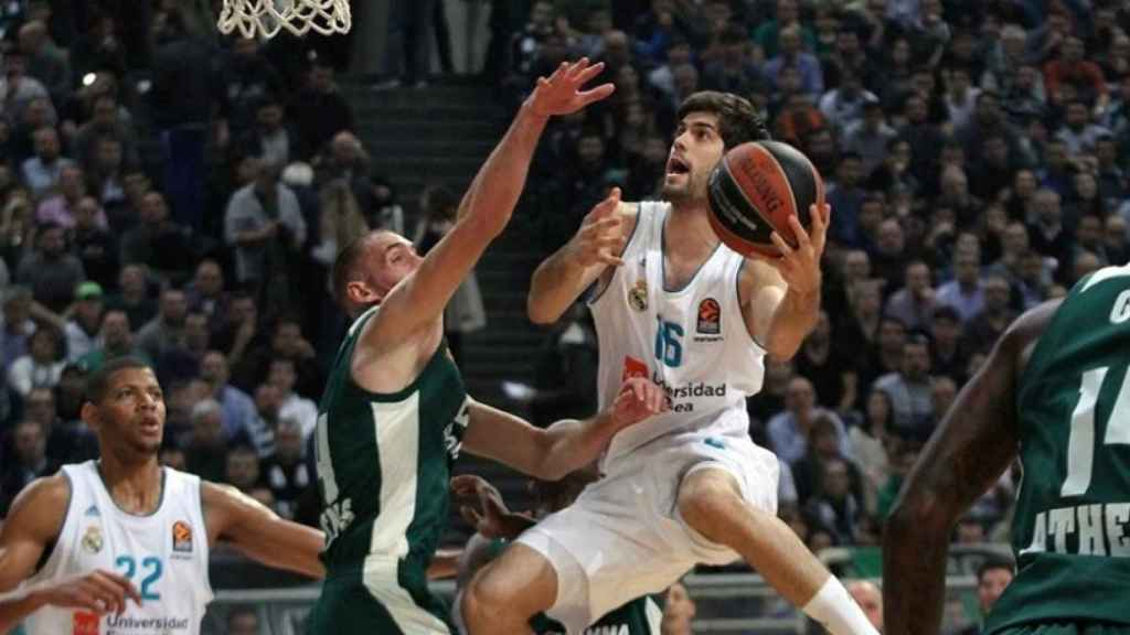 Santi Yusta ante Panathinaikos. Foto: euroleague.net