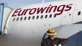 Imagen de un avión de Eurowings.