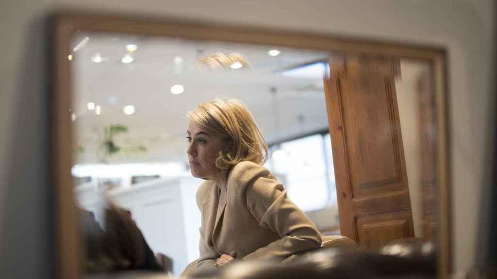María Carceller, CEO de Rodilla, durante la entrevista.