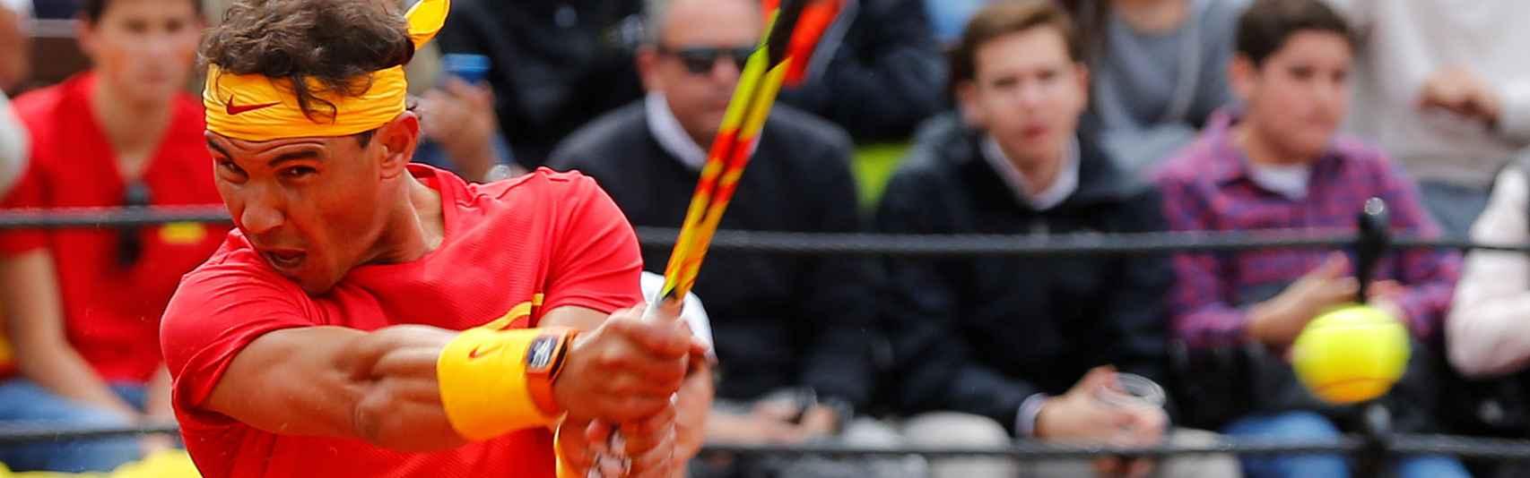 La Copa Davis, en vivo: siga el Rafael Nadal - Philipp Kohlschreiber de cuartos de final