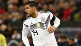 Emre Can con la selección de Alemania. Foto: Instagram (@ec2323)