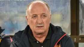 Scolari, entrenador del Guangzhou. Foto: fifa.com