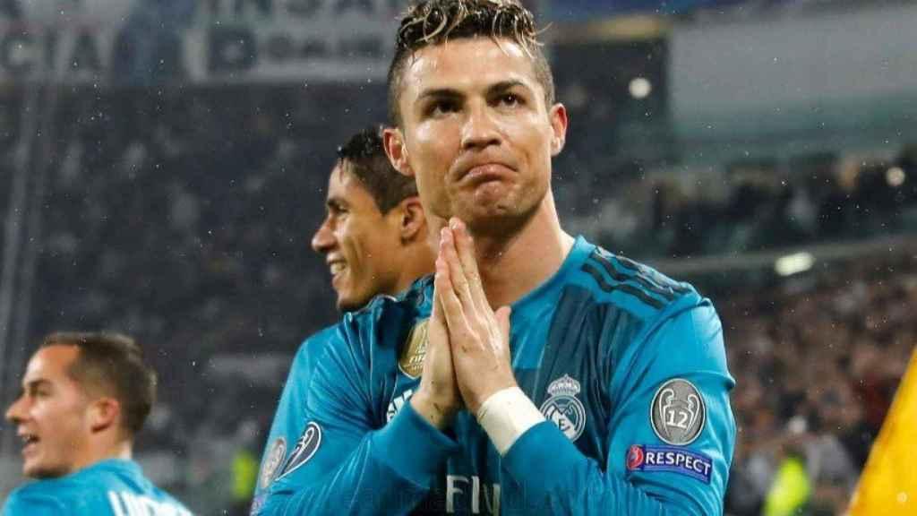 Cristiano agradece al Juventus Stadium la ovación