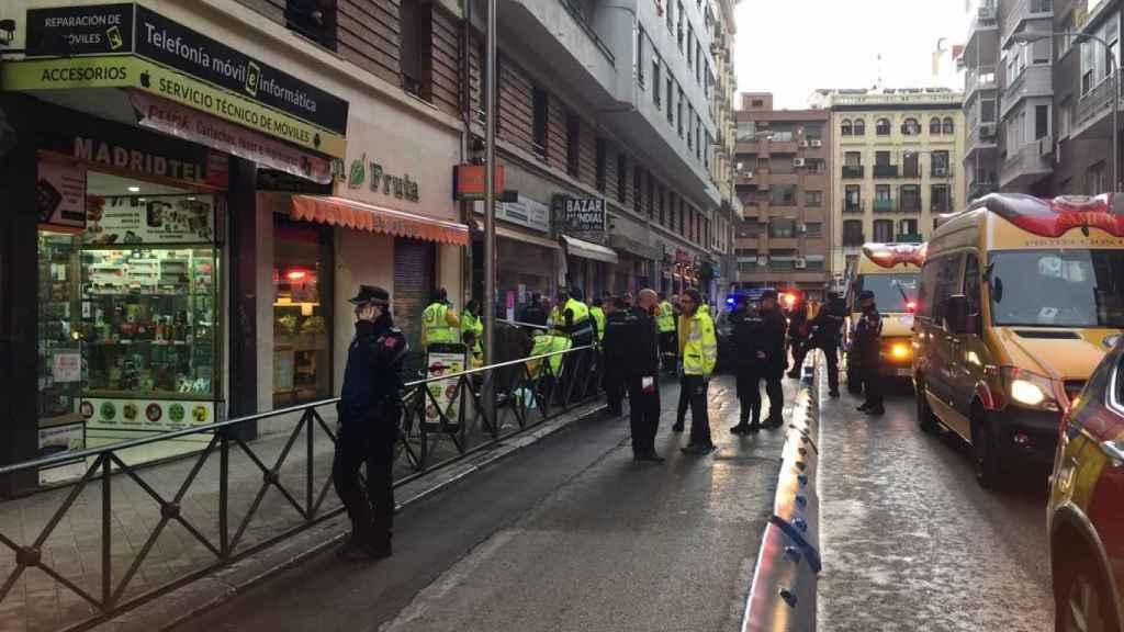 El tiroteo se ha registrado en el número 4 de la calle Fernando el Católico.
