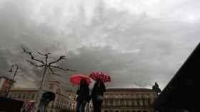 Lluvia este fin de semana en Pamplona.
