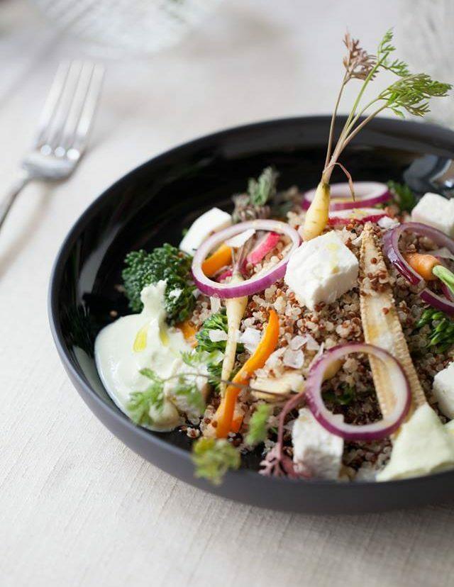 Restaurante Alameda - ensalada de quinoa