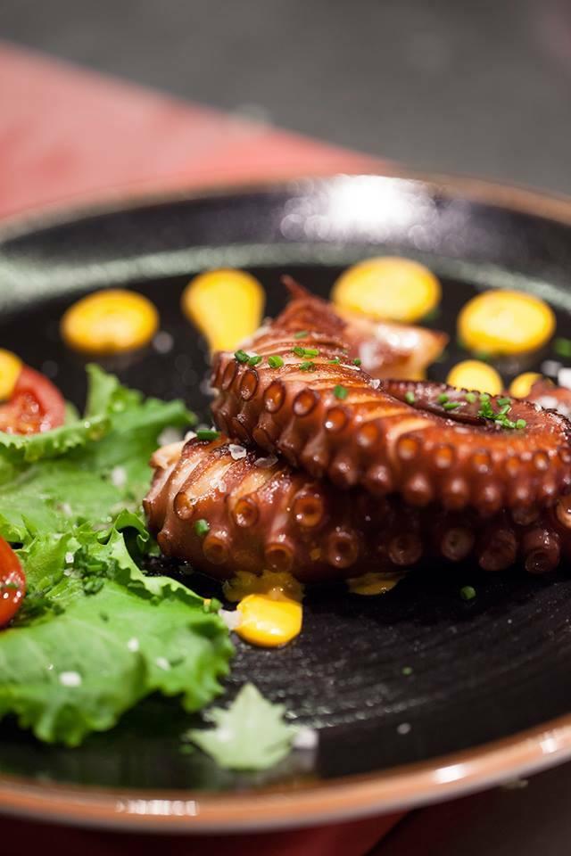 Restaurante Alameda - pulpo asado