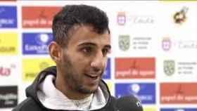 Nabil, jugador del Ceuta.