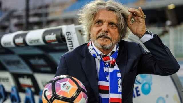 Massimo Ferrero, presidente de la Sampdoria.