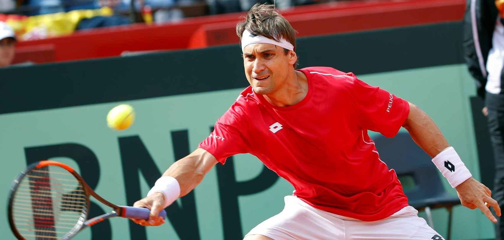 David Ferrer - Philipp Kohlschreiber, en vivo y en directo la Copa Davis