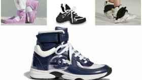 Las sneakers más extravagantes de esta temporada en un montaje.