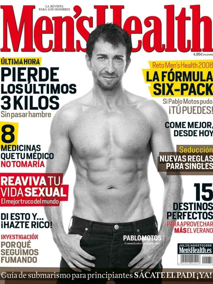 Portada de Men's Health de Pablo Motos.