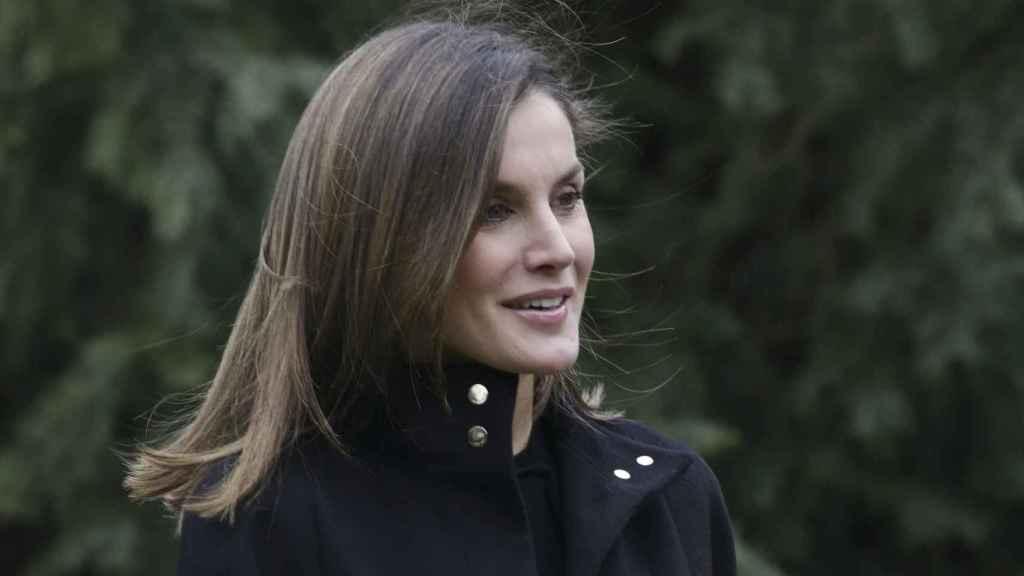 Letizia vuelve a sonreír como si no hubiera pasado nada