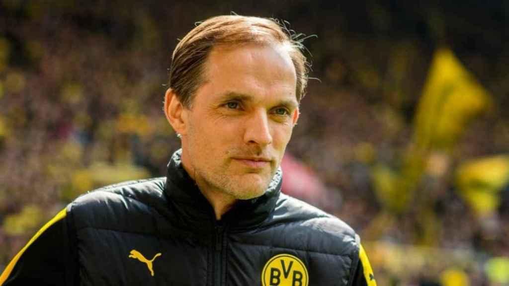 Thomas Tuchel, en su etapa como entrenador del Borussia Dortmund Foto: bvb.de