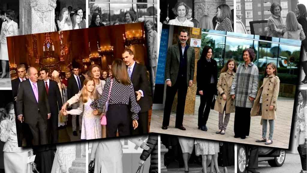Analizamos la transformación de la Familia Real en una semana.