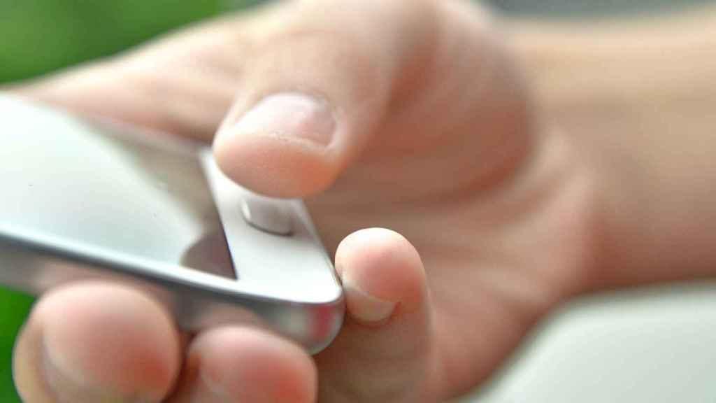 huellas dactilares smartphone