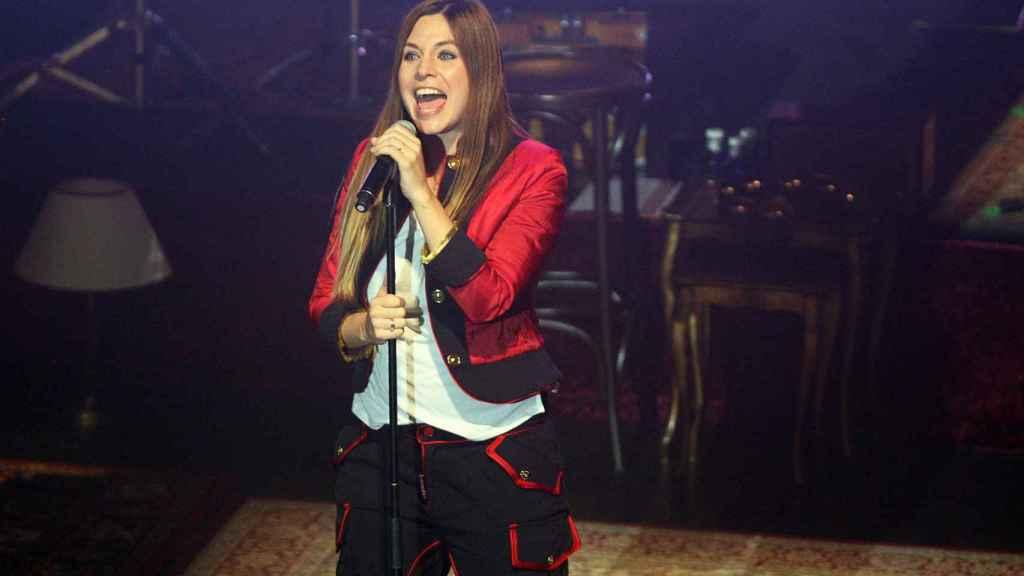 La cantante Leire Martínez.