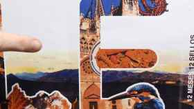 En el sello se reproduce por error la catedral de Burgos