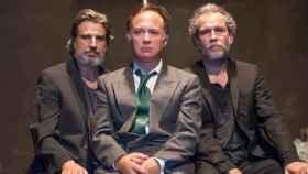 Alberto San Juan, Luis Bermejo y Willy Toledo, protagonistas de la obra El rey.
