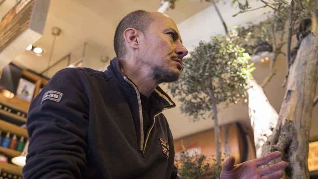 Jenaro García, ex consejero delegado de Gowex durante la entrevista con EL ESPAÑOL.