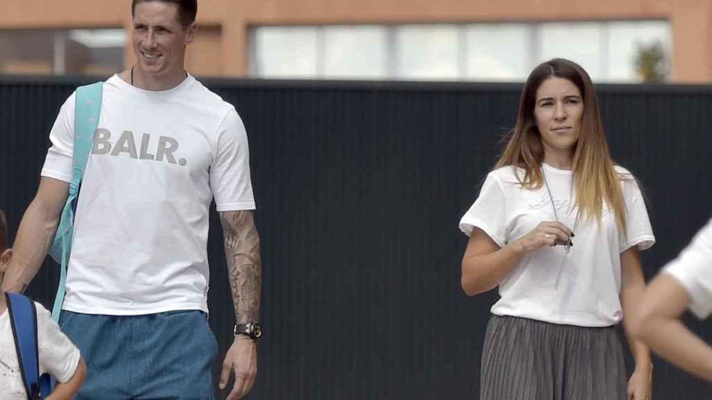 Fernando y Olalla en septiembre de 2017.