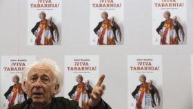 Albert Boadella, presidente de Tabarnia, este miércoles en la sala Finlandia de un hotel en Madrid.